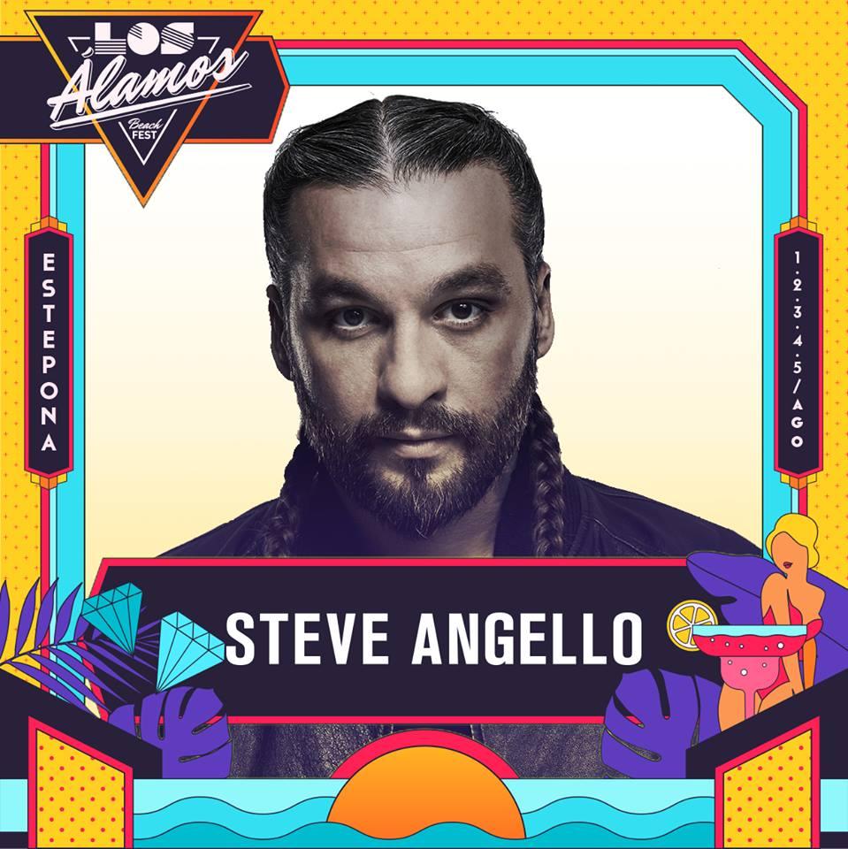 Steve Angello, nuevo headliner de Los Álamos Beach Festival