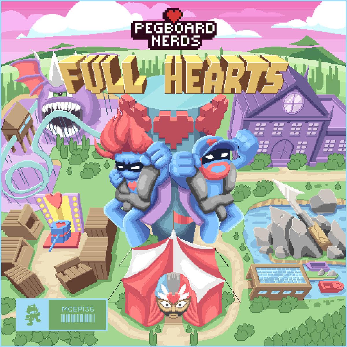 "Pegboard Nerds vuelven a la carga con ""Full Hearts EP"""