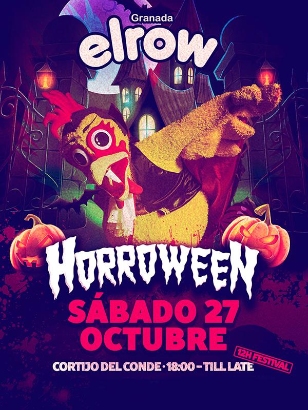 ElRow - Horroween @ Granada | Granada | Andalucía | España