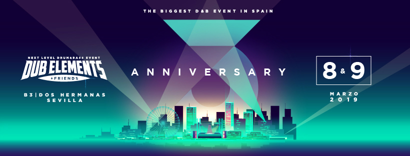 Dub Elements & Friends - 3º Aniversario