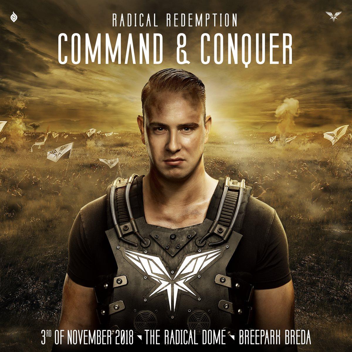 """Radical Redemption presenta """"Command & Conquer"""", su quinto álbum de estudio"""