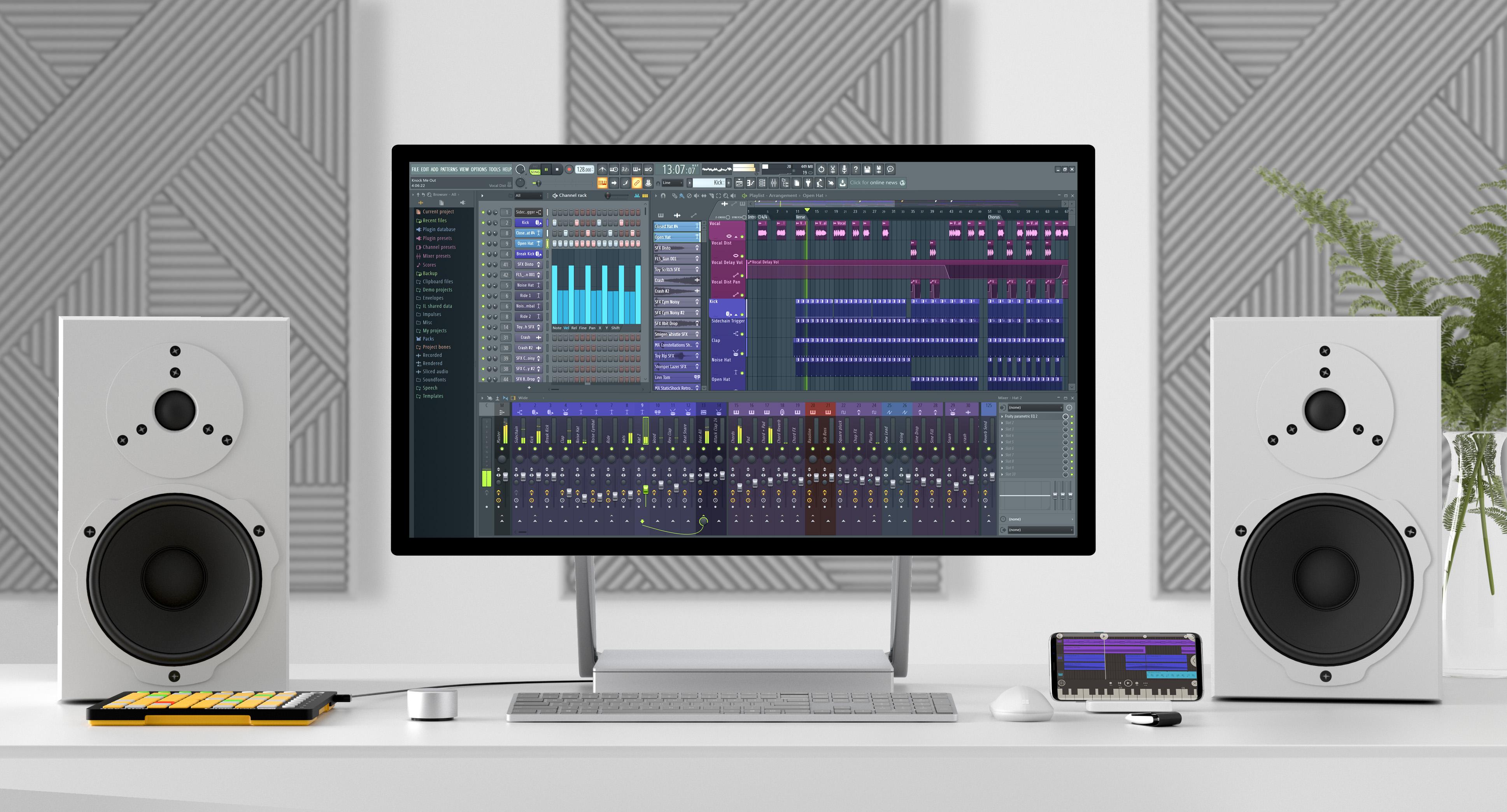 Fl Studio Lanza Su Nueva Versión 205 Loud Cave